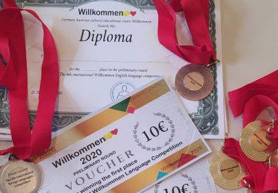 Takmičenje iz engleskog jezika Willkommen